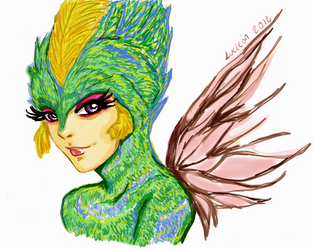 Tooth Fairy-Rise Of The Guardians by LucLeon