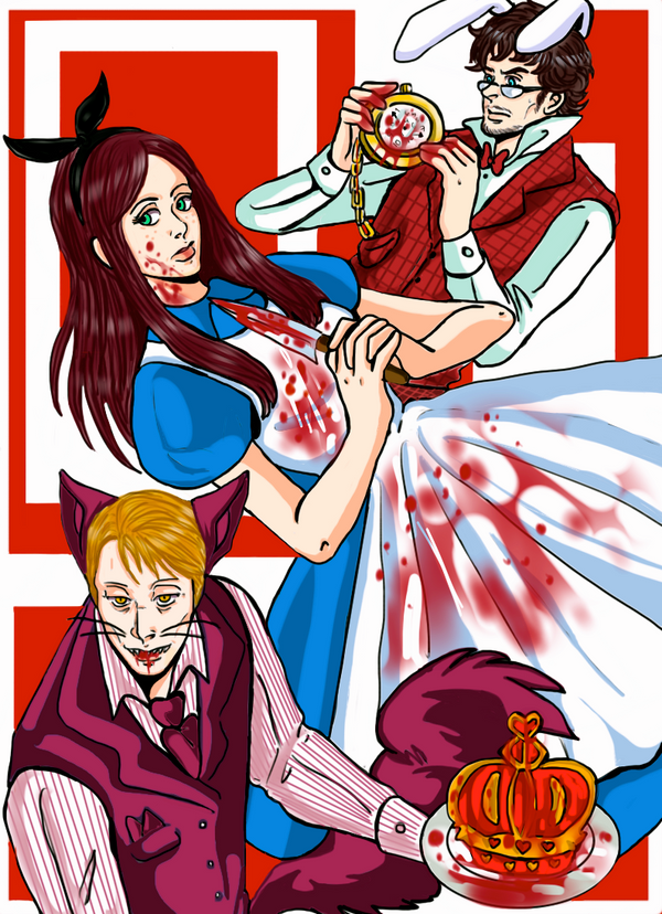 Murder Family:Abigail in Wonderland by LucLeon