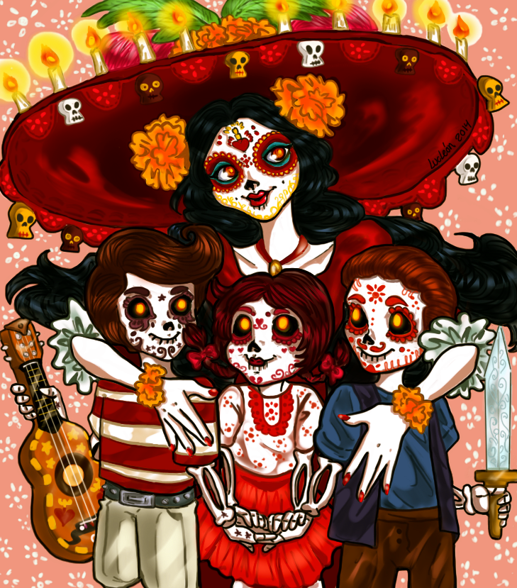 Free Comic Book Day Wallpaper: The Book Of Life By LucLeon On DeviantArt