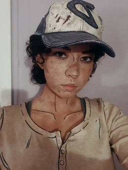 Clementine The Walking Dead Cosplay