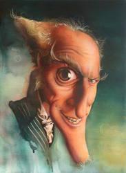 Caricature - Jim Carrey by woanling