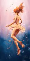 Mermaid by woanling