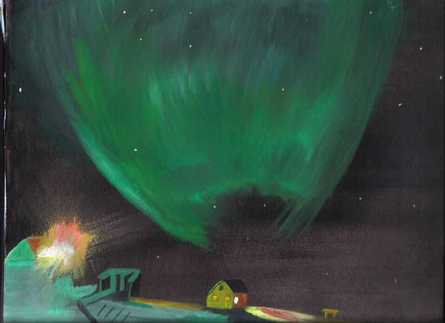 Auroras by audamay