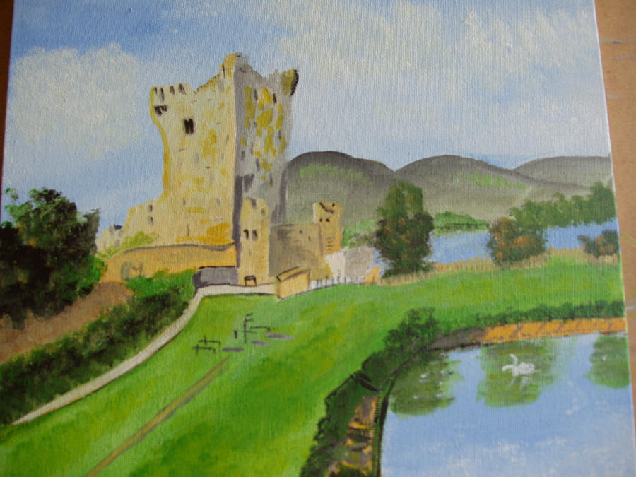 Ross Castle by audamay