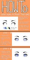 Eye Coloring Tutorial 2013 - Paint tool SAI