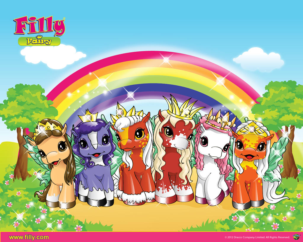 My Filly World Stars Pony Toys Fairy Wallpaper01 1 By