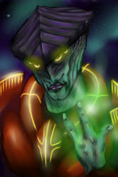 Javik by Green-Dragon-Art