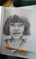 Drawing Clarisa by VanessaBettencourt