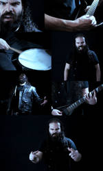 HEROES AND VILLAINS - Adamantine band by VanessaBettencourt