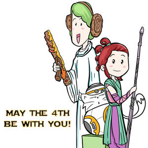 May the 4th be with you mashup