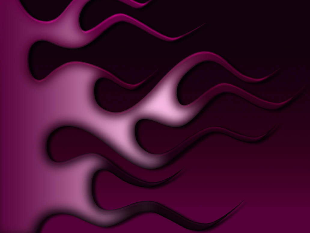 Flames - Purple Black by jbensch