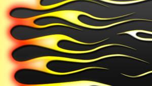 PSP Flames - Old Skool