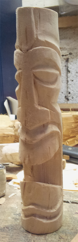 Carved Tiki 3 - Prosperity by jbensch