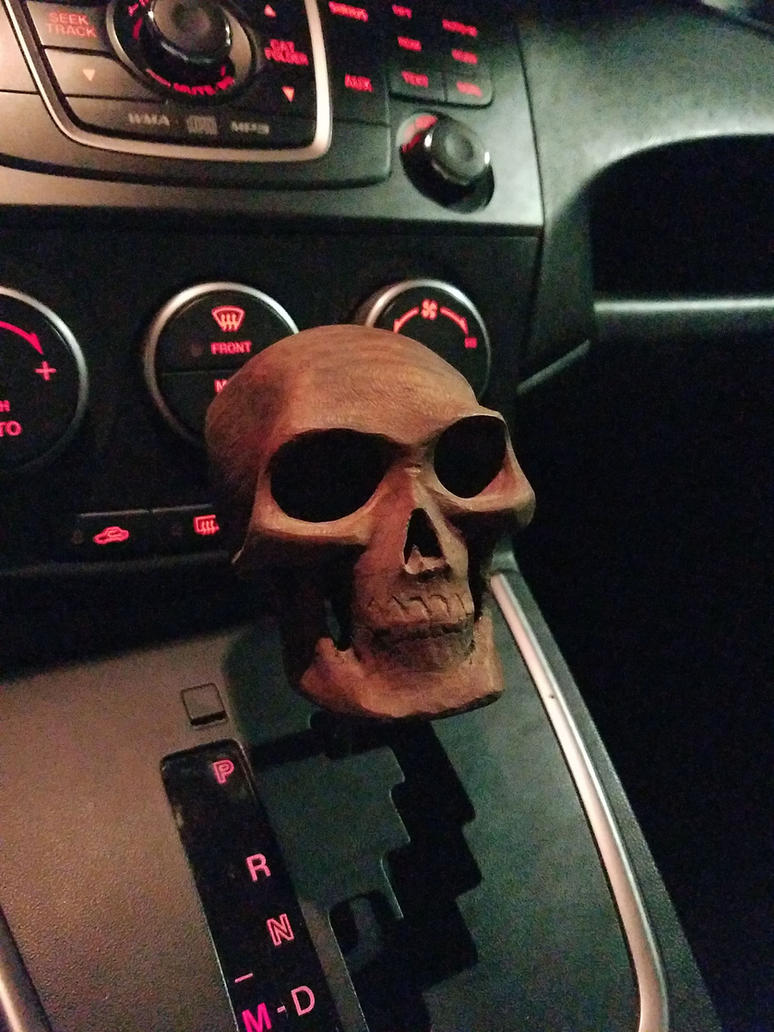 Just another skull shifter knob by jbensch