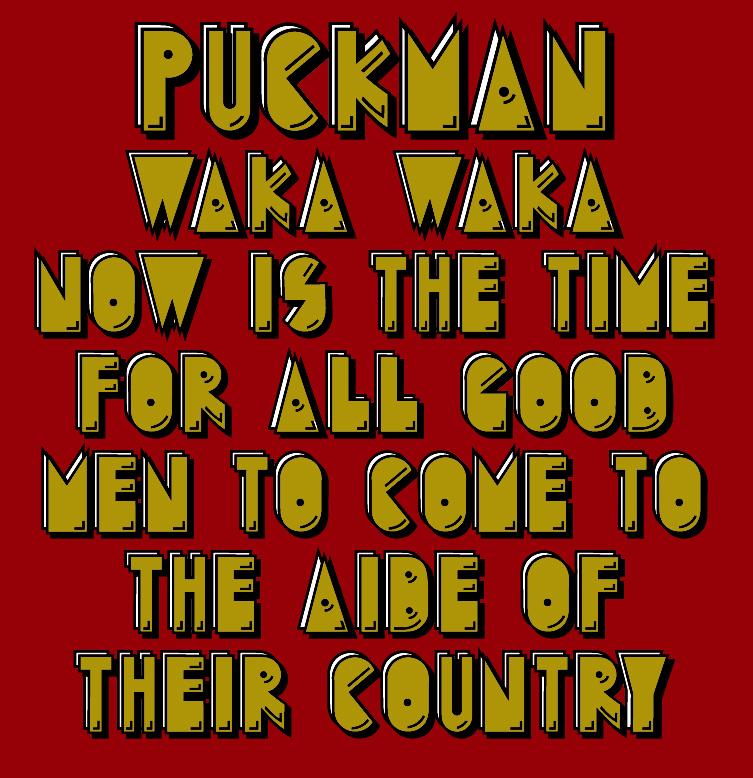 Puckman WIP by jbensch