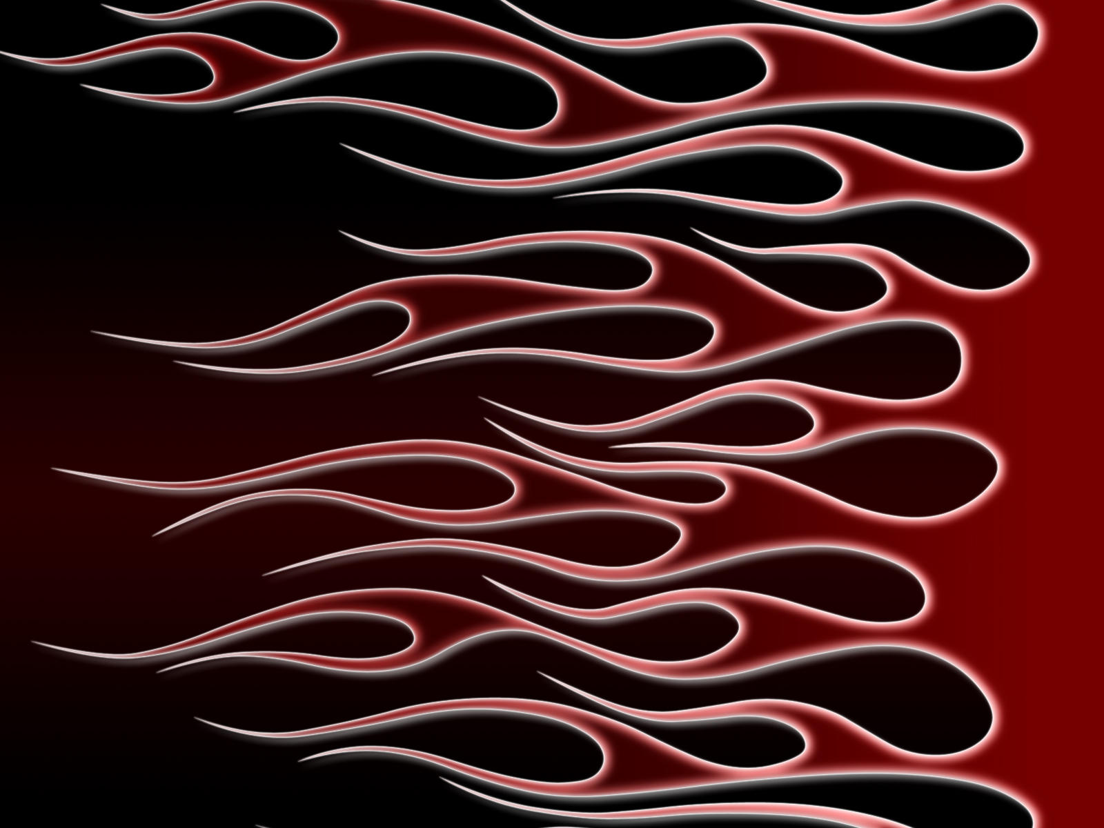 flames - red on black by jbensch