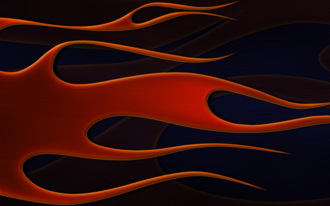 flames - copper and blue wide by jbensch