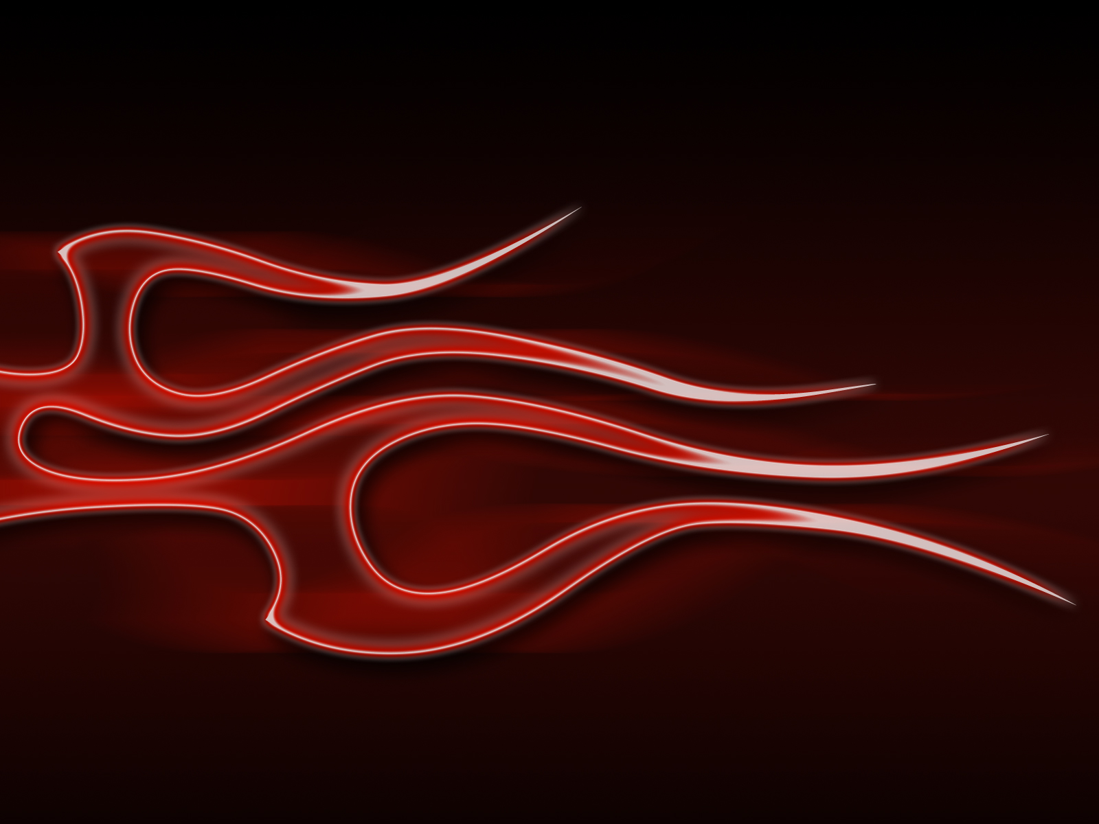 Flames - Electric Red by jbensch