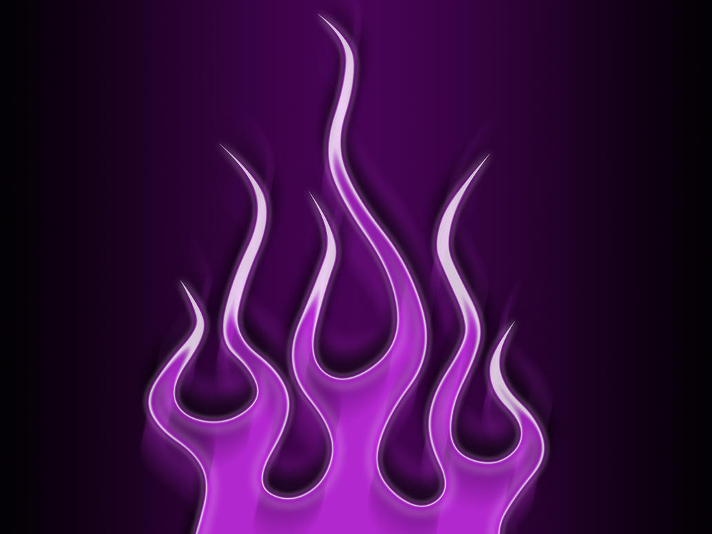 flames electric purple by jbensch