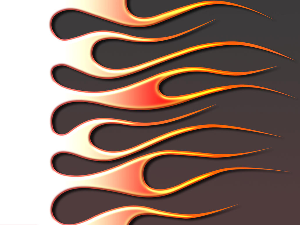 Flames hot rod on primer by jbensch