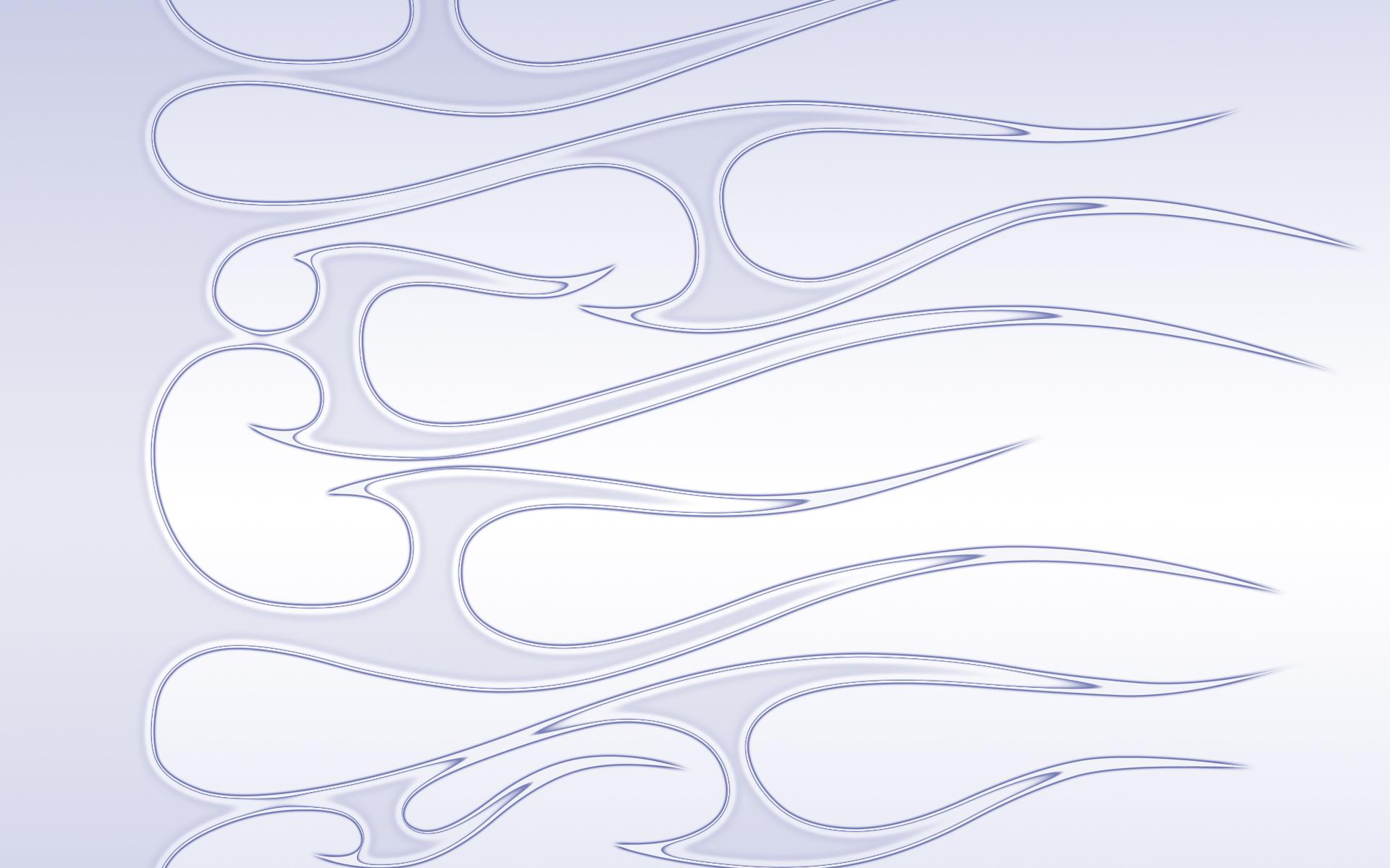 Flames - pinstripe II by