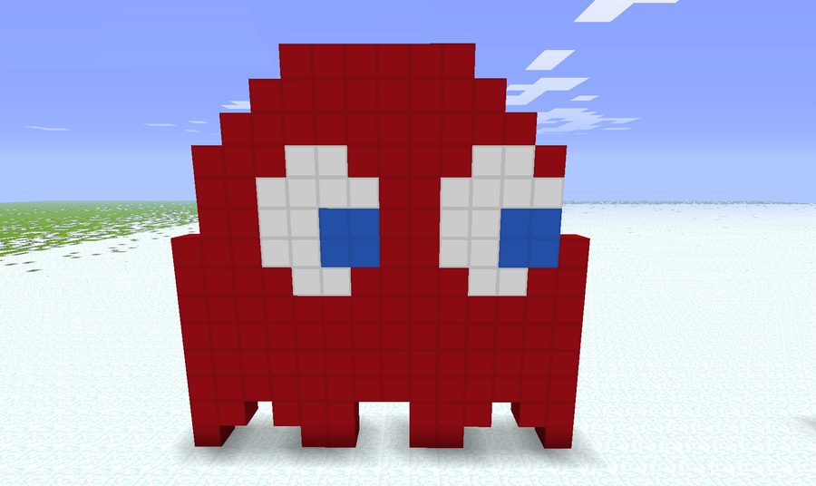 Minecraft: Blinky by metalsilverfan18 on DeviantArt  Minecraft: Blin...
