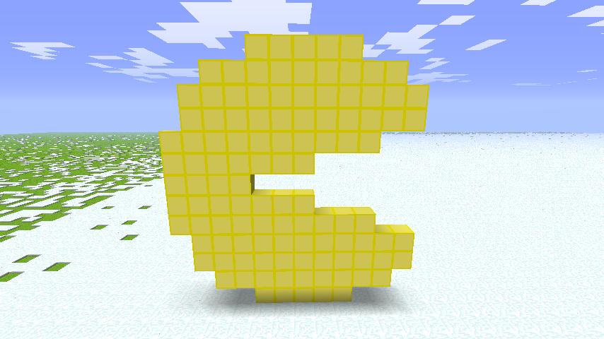 Minecraft: Pacman By Metalsilverfan18 On DeviantArt