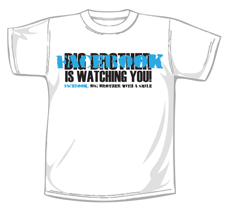 anti facebook t-shirt by matthiu