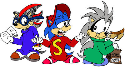 Like sonic underground by s the heck theheckthehecktheheck what