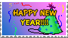New Year Stamp by spongefox