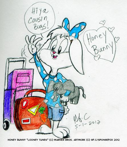 Long Lost Looney-Honey Bunny by spongefox