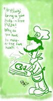 Luigi-PIZZA TIME