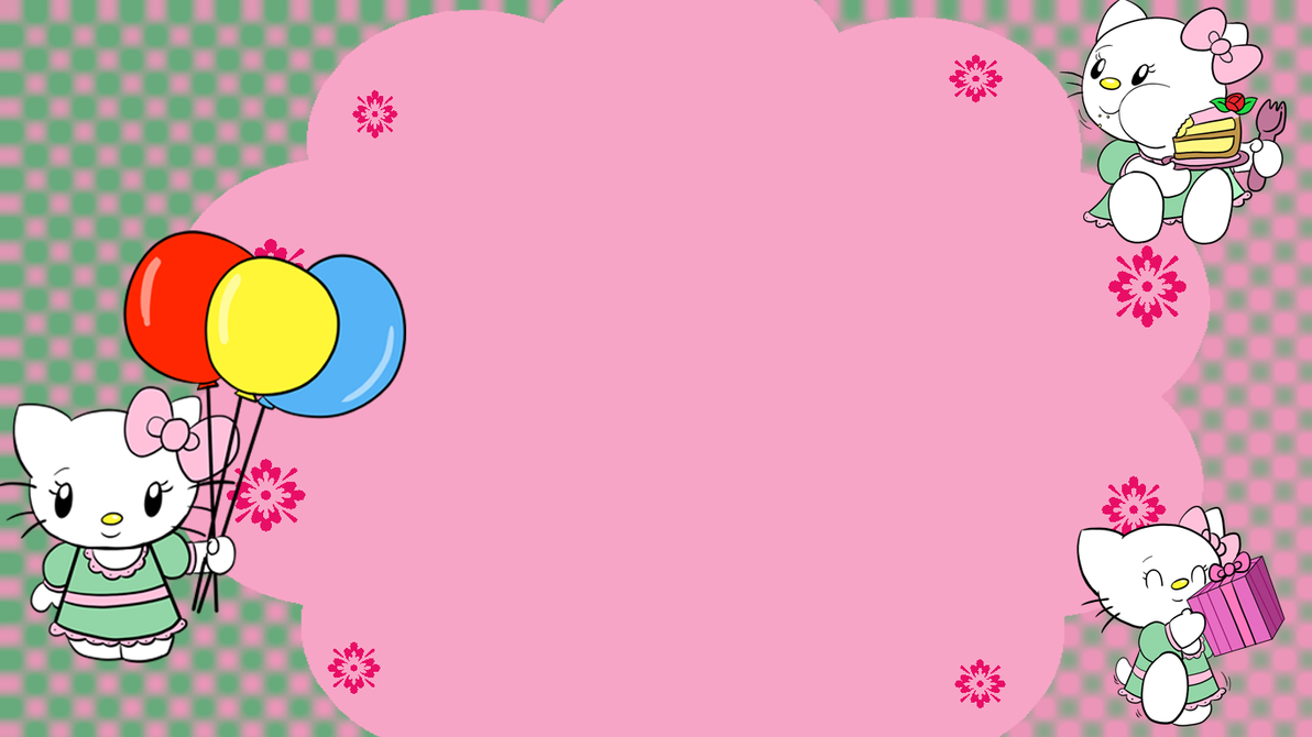 Hello Kitty-Birthday card image by spongefox on DeviantArt