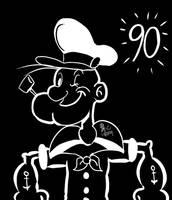 Popeye 90 years of Sailing Fun by spongefox