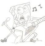 Guitaring Spongebob