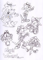 A Nac for Nack-pen sketches by spongefox
