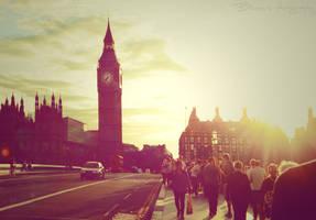 London in sun. by Bunnis