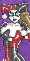 Harley Quinn by IndyScribbable