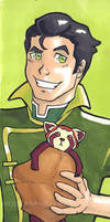 Bolin and Pabu by IndyScribbable