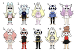 Masked Kid Adopts (7/10) OPEN