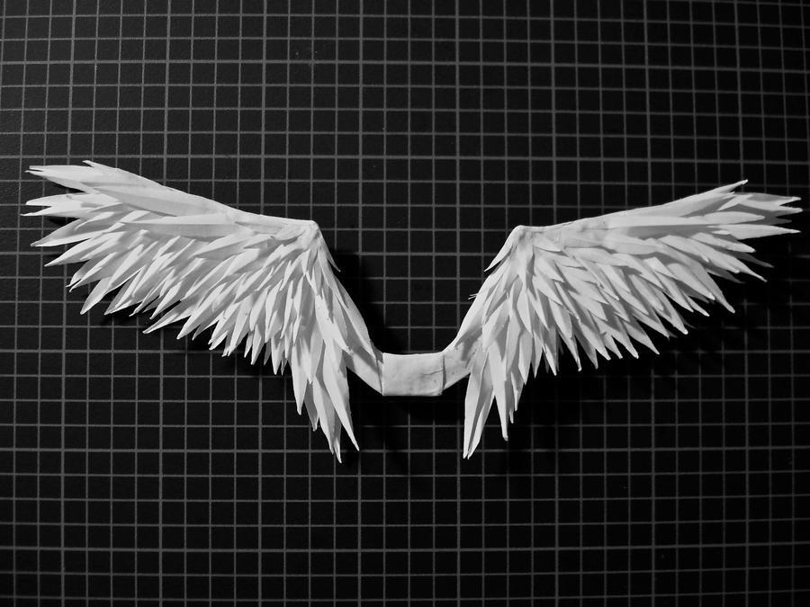 Paper wings by HolographicImaging