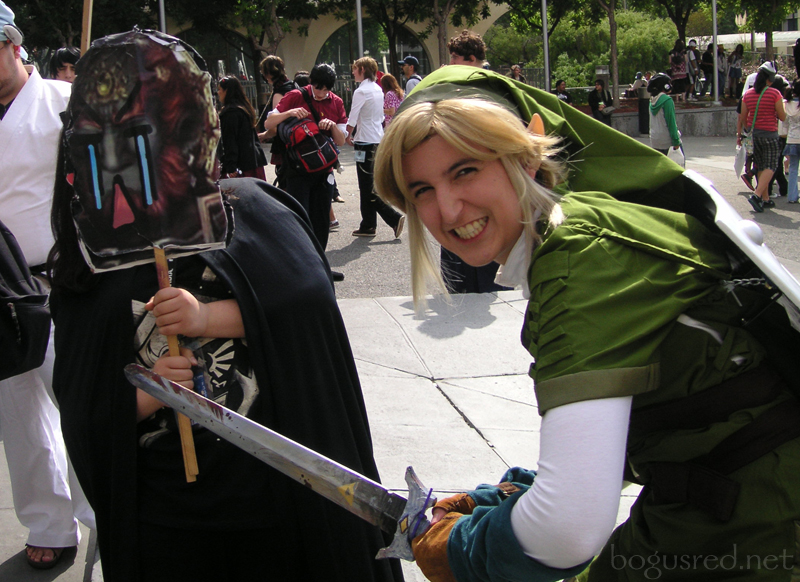 Cosplay Link - Gannon defeated by BogusRed