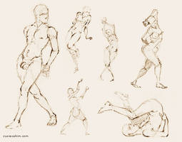 Figure Studies by BogusRed