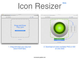 Icon Resizer by ValeryGladkov