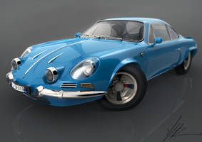 Renault Alpine 110a by bonsaipower