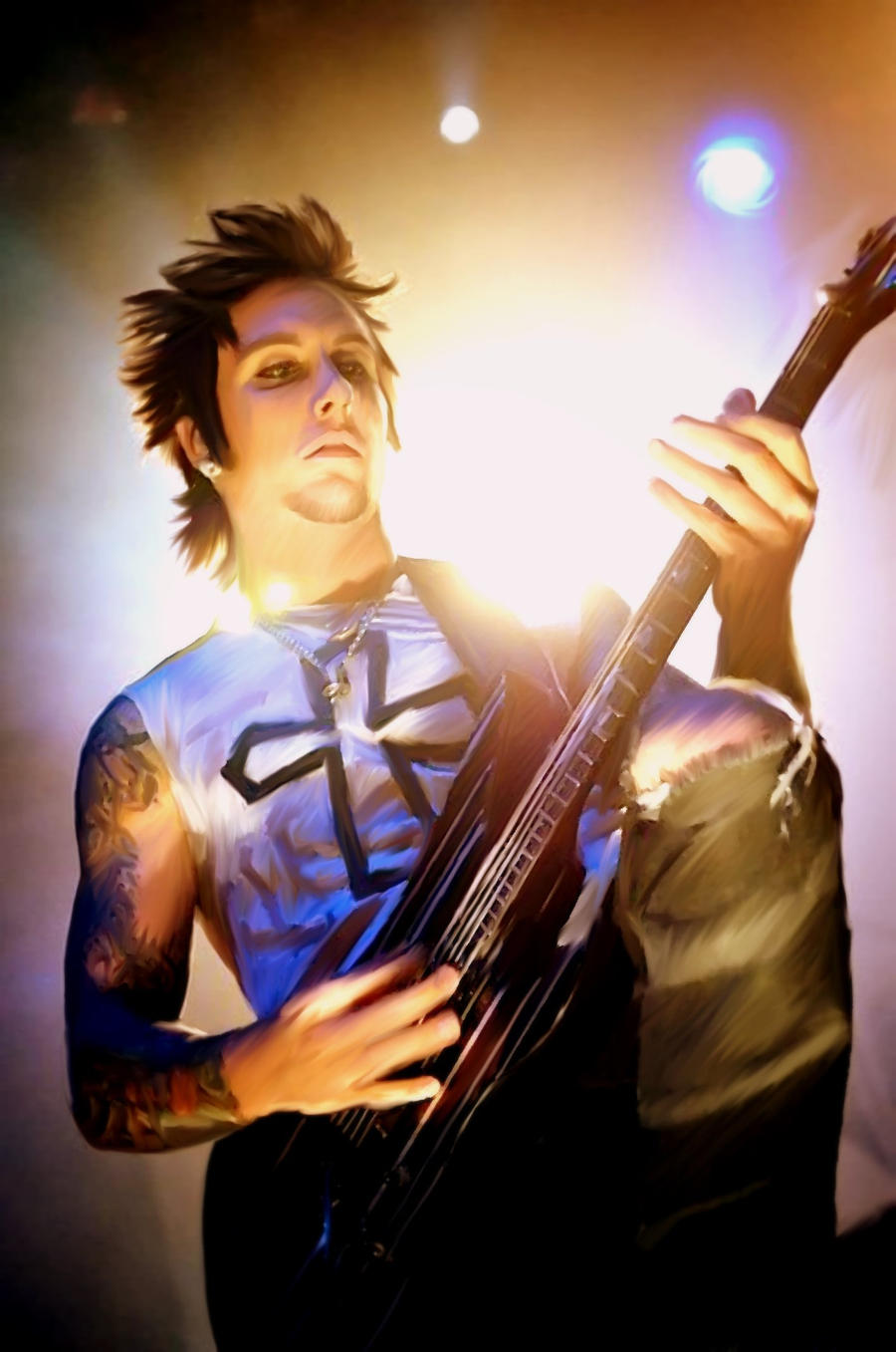 Synyster gates by chabiboy on deviantart