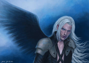 Sephiroth by slugette