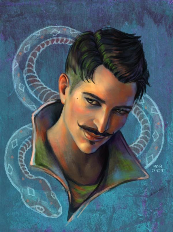 Dorian Portrait by slugette