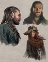 Black Sails Sketches by slugette