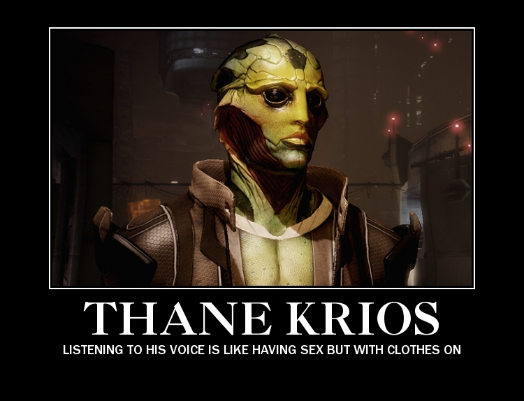 Thane Krios by littlecrazyneko411